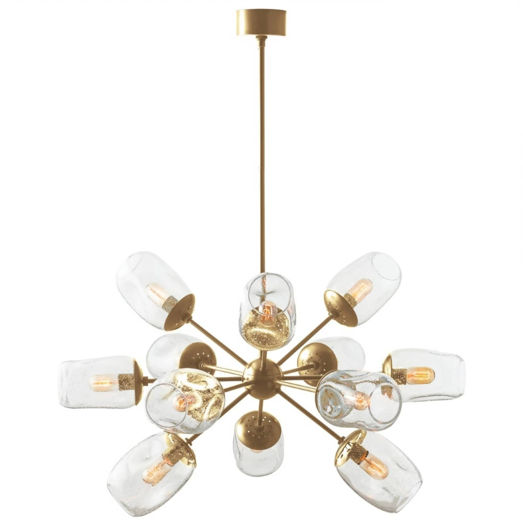 Gold Modern Chandelier For Popular Chandeliers Design : Marvelous Dining Room Chandeliers Large Modern (View 6 of 20)