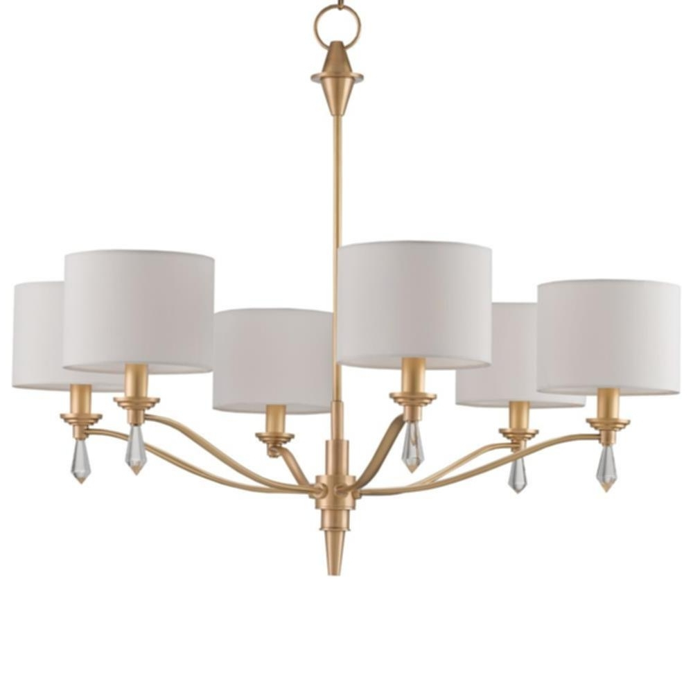 Gold Modern Chandelier Intended For Fashionable Modern Chandelier Gold (Gallery 9 of 20)
