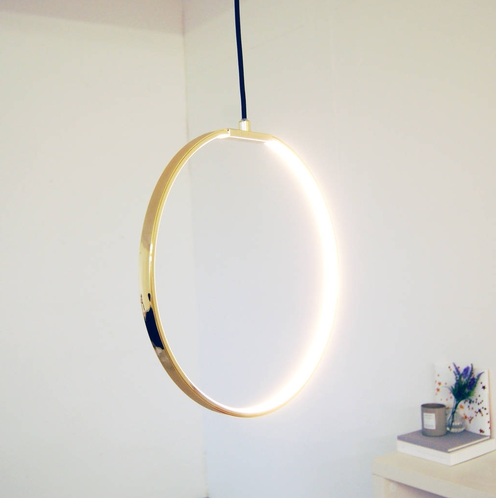 Gold Round Led Ceiling Light Modern Chandeliermade With Love Inside Well Known Gold Modern Chandelier (View 20 of 20)