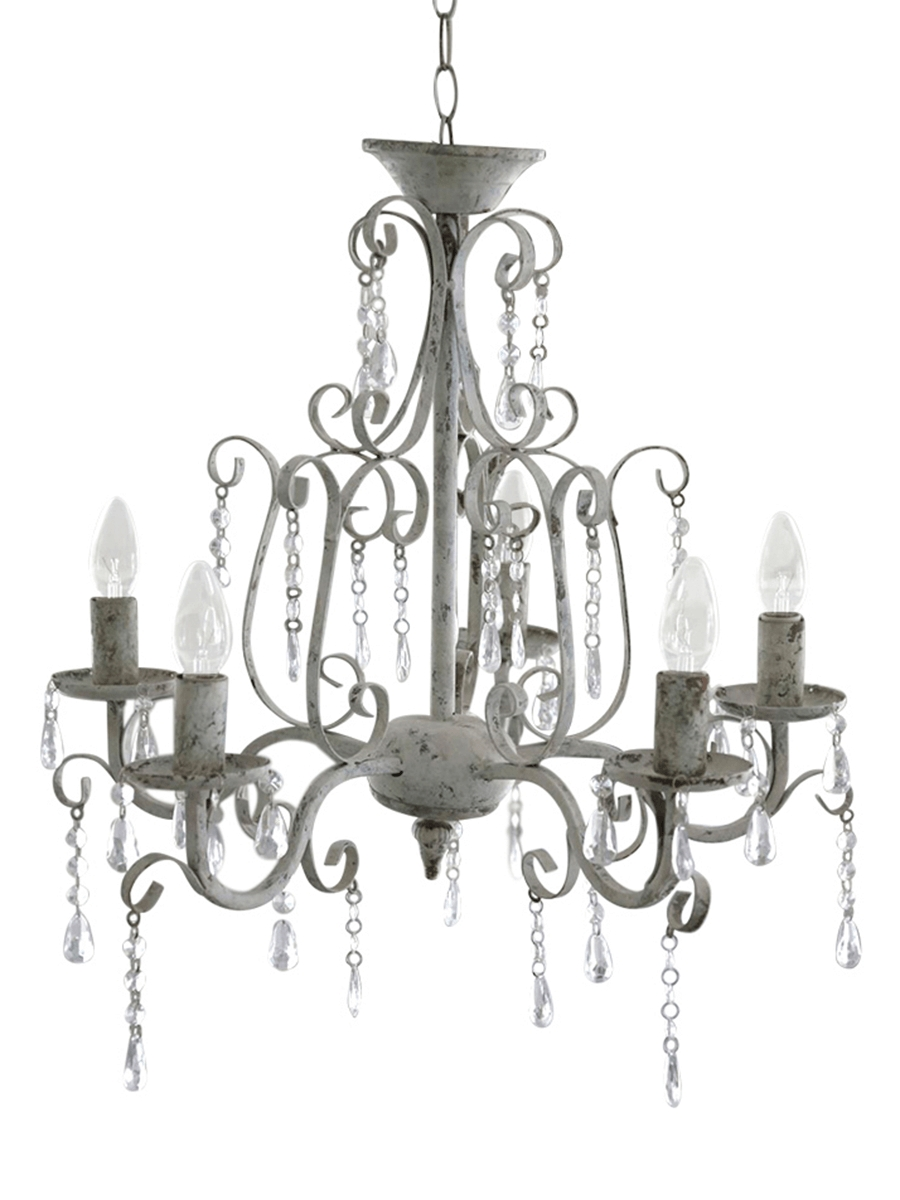 Grand Grey Chandelier – Chandeliers – Ceiling Lights – Lighting Intended For Current Grey Chandeliers (Gallery 10 of 20)