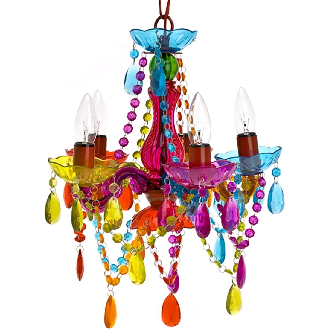 Gypsy Chandeliers Inside Most Recently Released Gypsy Chandelier Multicolored (View 5 of 20)