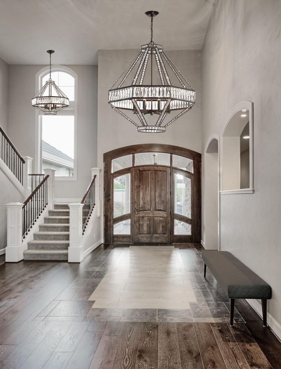 Hallway Chandeliers In Current Chandeliers : Modern Hallway Chandeliers Ideas Best Photo Design (View 6 of 20)