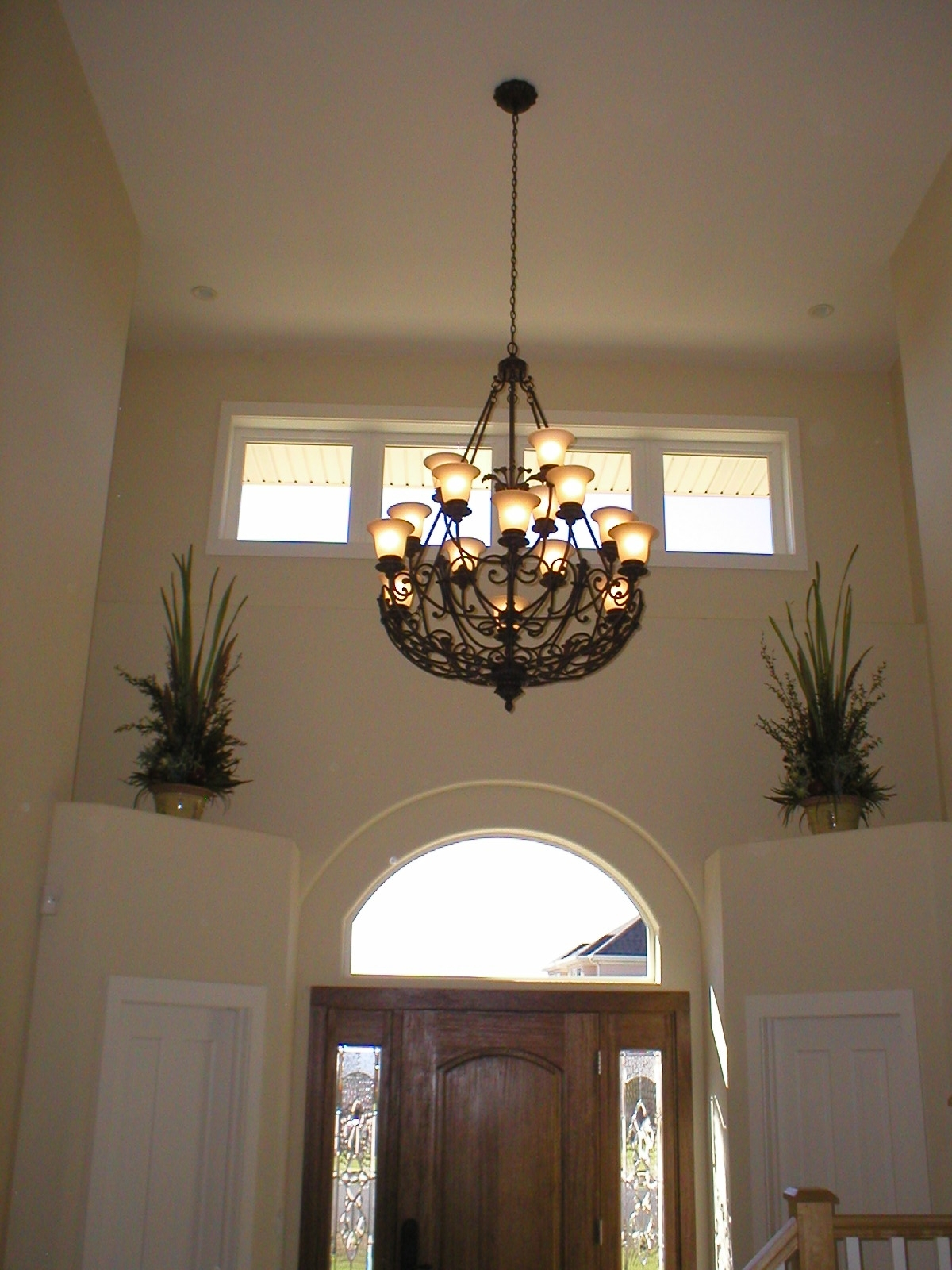 Hallway Chandeliers In Most Up To Date Light : Modern Entryway Chandelier. Unique Foyer Lighting (View 11 of 20)