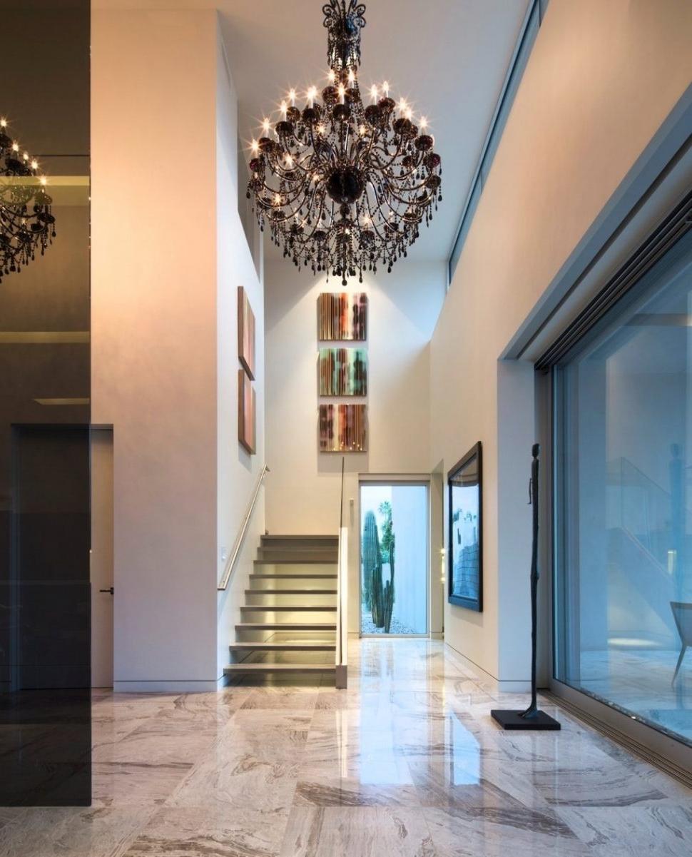 Hallway Chandeliers In Preferred Chandeliers : Modern Hallway Chandeliers Ideas Best Photo Design (View 4 of 20)