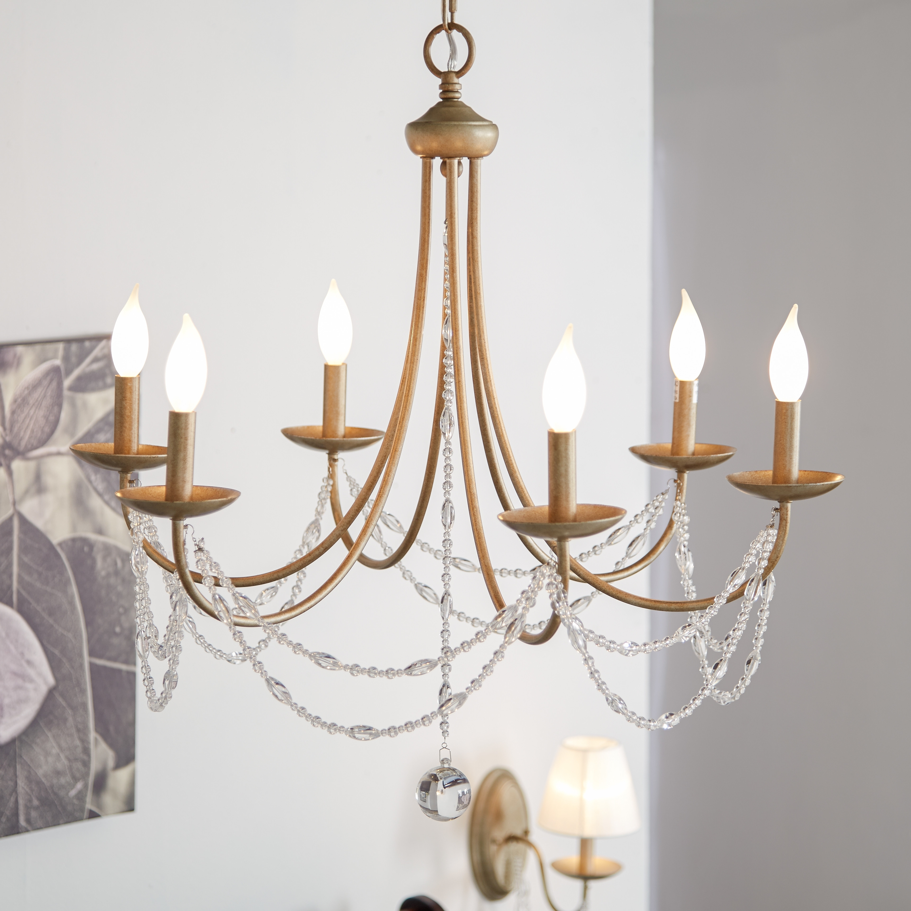 Hanging Candelabra Chandeliers For Well Known Lighting: Wonderful Candle Chandelier Non Electric For Modern Lights (View 12 of 20)