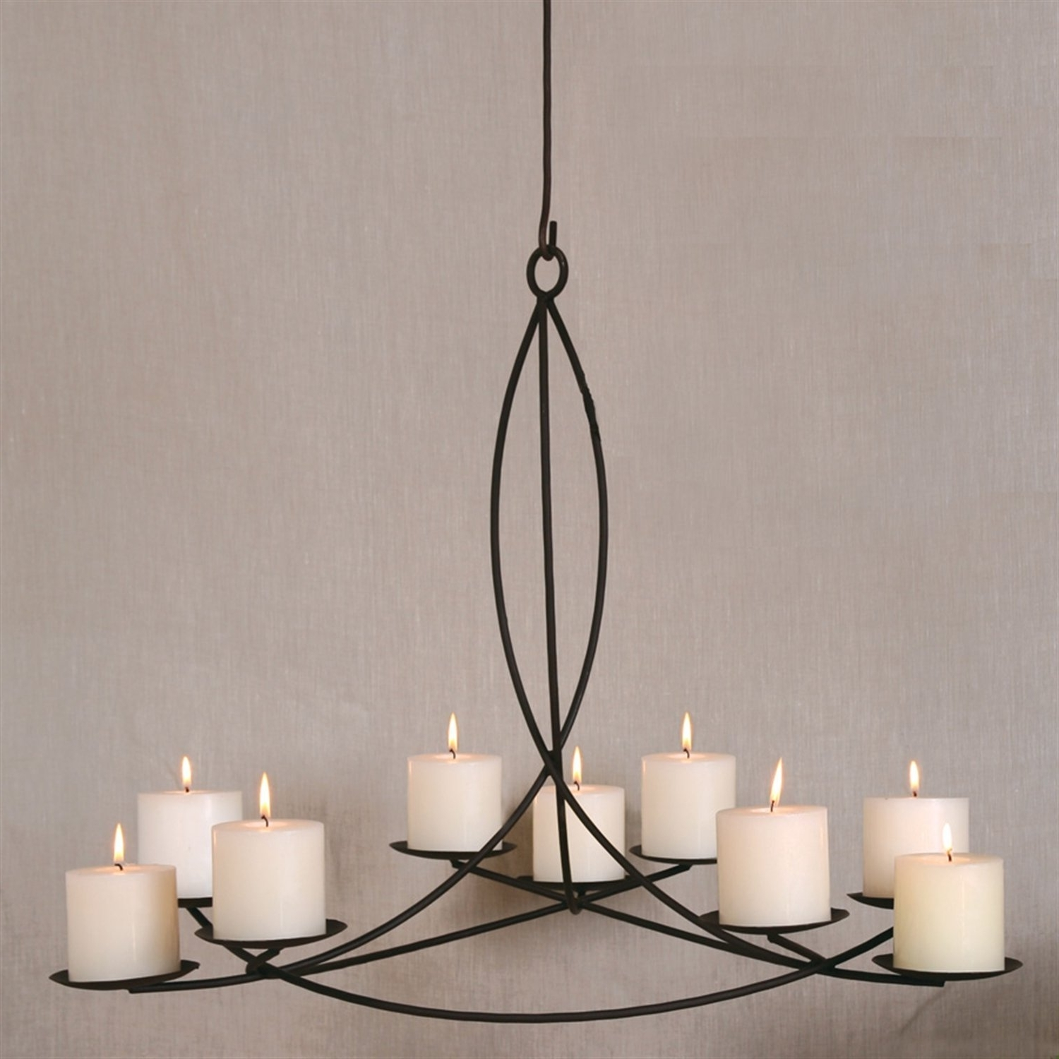 Hanging Candle Chandeliers Within Recent Beautiful And Elegant Candle Chandelier — Best Home Decor Ideas (View 9 of 20)