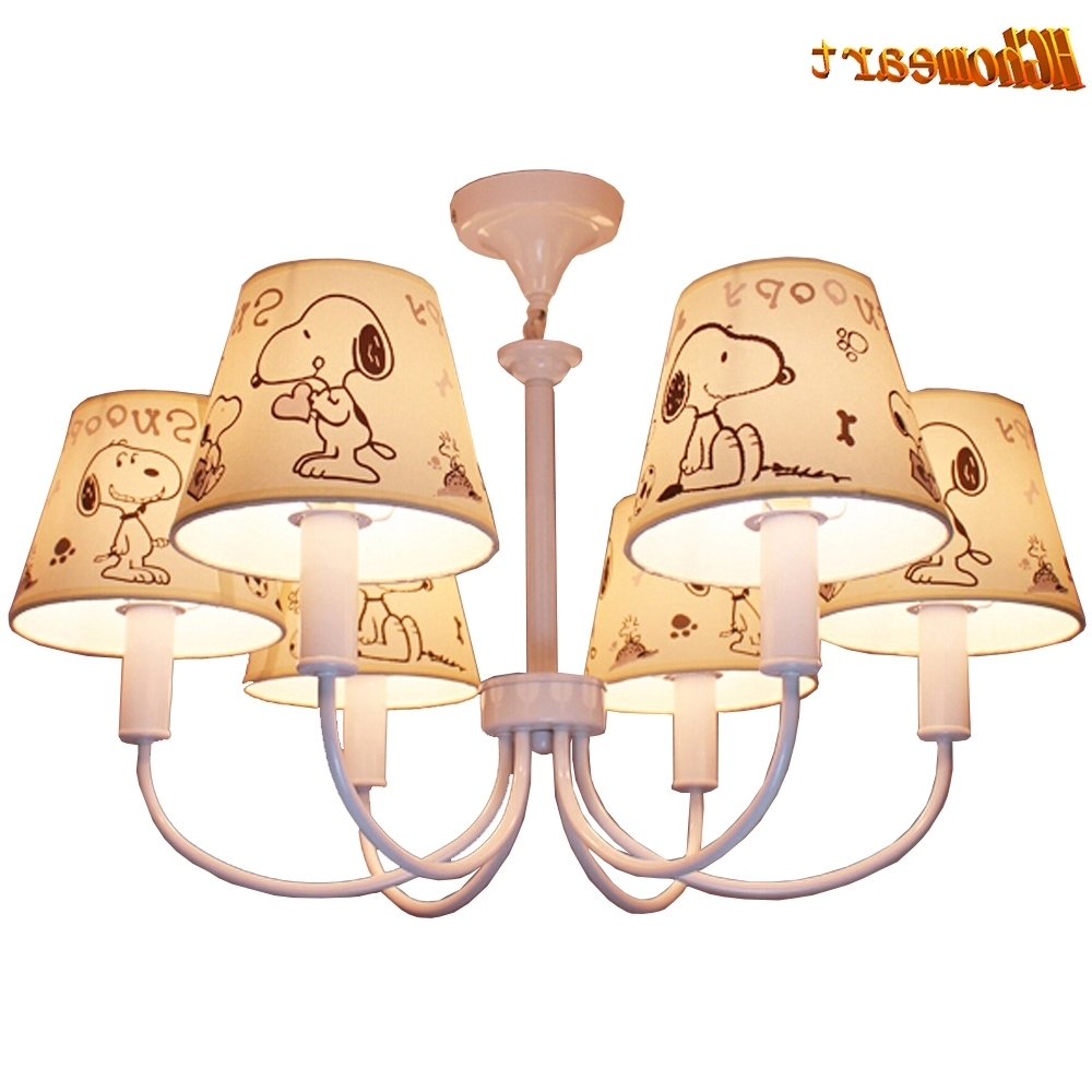 High Quality Cartoon Chinese Chandeliers E14 Led 110v 220v Kids Room Regarding Most Recent Chinese Chandeliers (View 8 of 20)