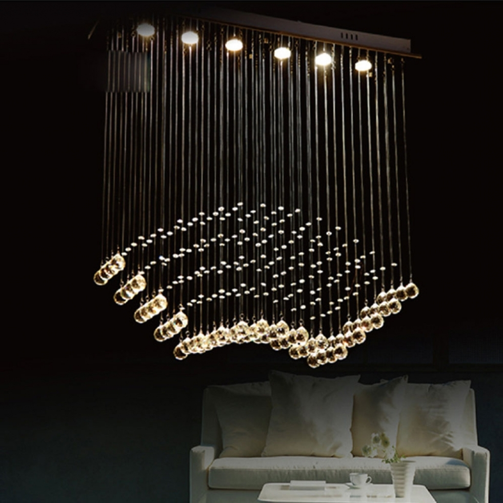 Home Decor: Modern Contemporary Chandelier Lighting : Decorative Pertaining To Favorite Contemporary Modern Chandelier (View 5 of 20)