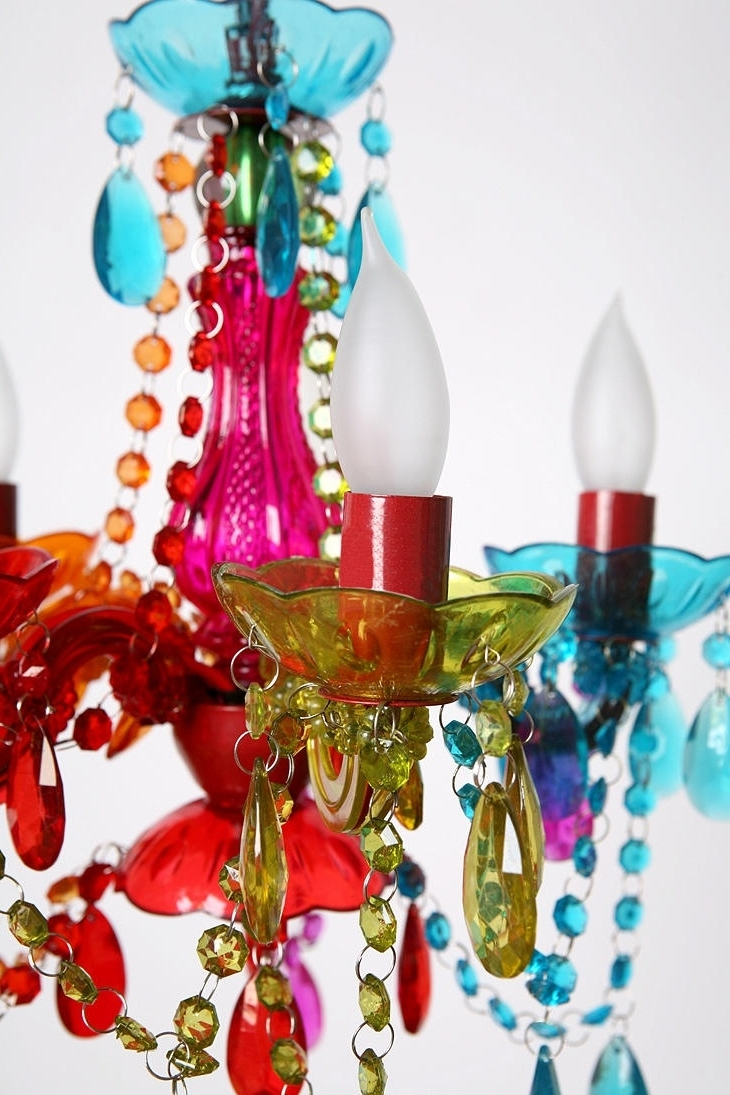 Home Ideas Within Favorite Multi Colored Gypsy Chandeliers (View 5 of 20)