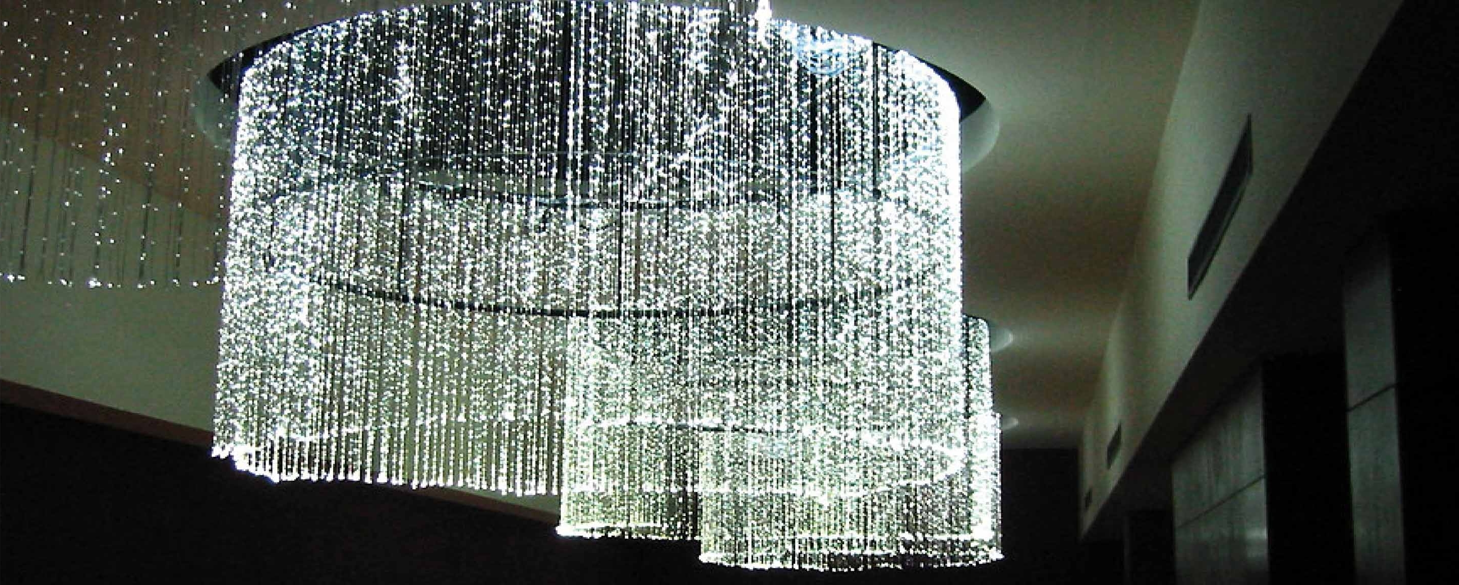 Hotel Chandelier Within Well Known Fibre Optic Chandeliers – Gmp Design (View 16 of 20)