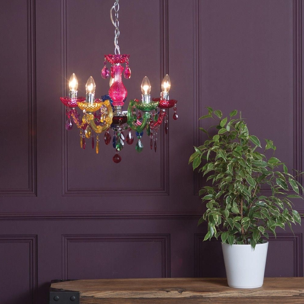 How To Make A Style Statement With Coloured Chandeliers – Litecraft Pertaining To Most Popular Colourful Chandeliers (View 12 of 20)