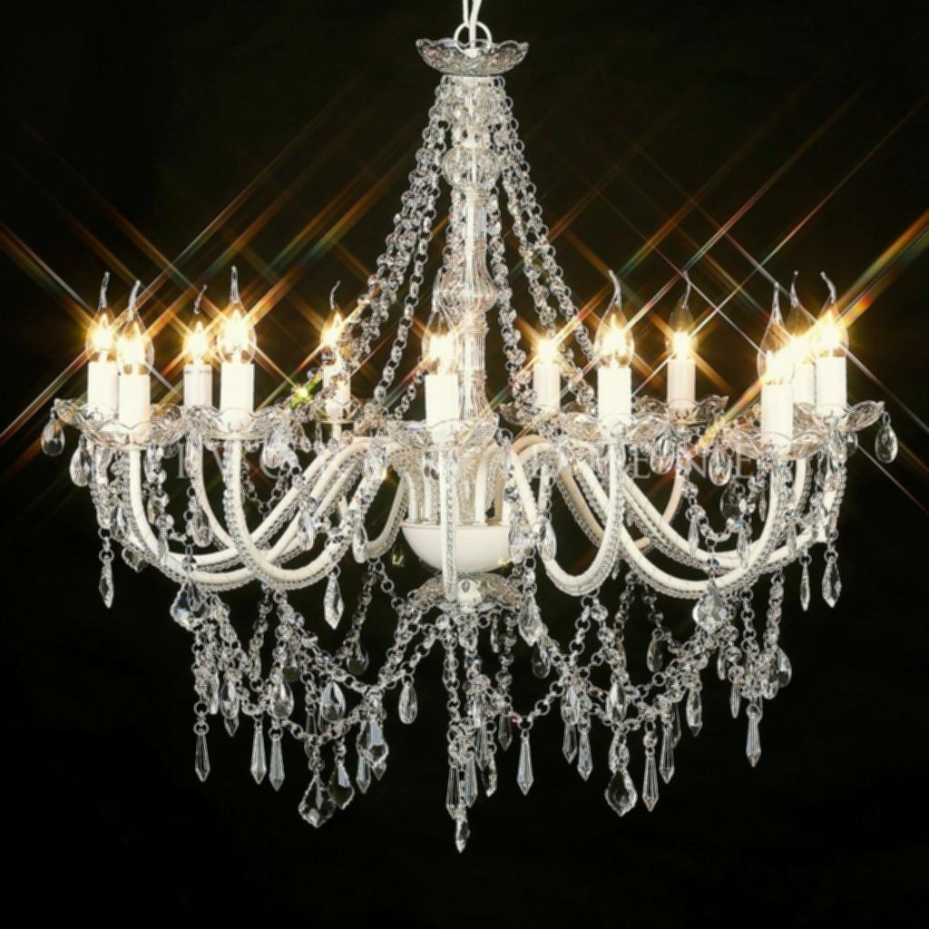 Huge Crystal Chandelier Amazing Large Crystal Chandelier 12 Light 1 With Fashionable Huge Crystal Chandeliers (View 18 of 20)