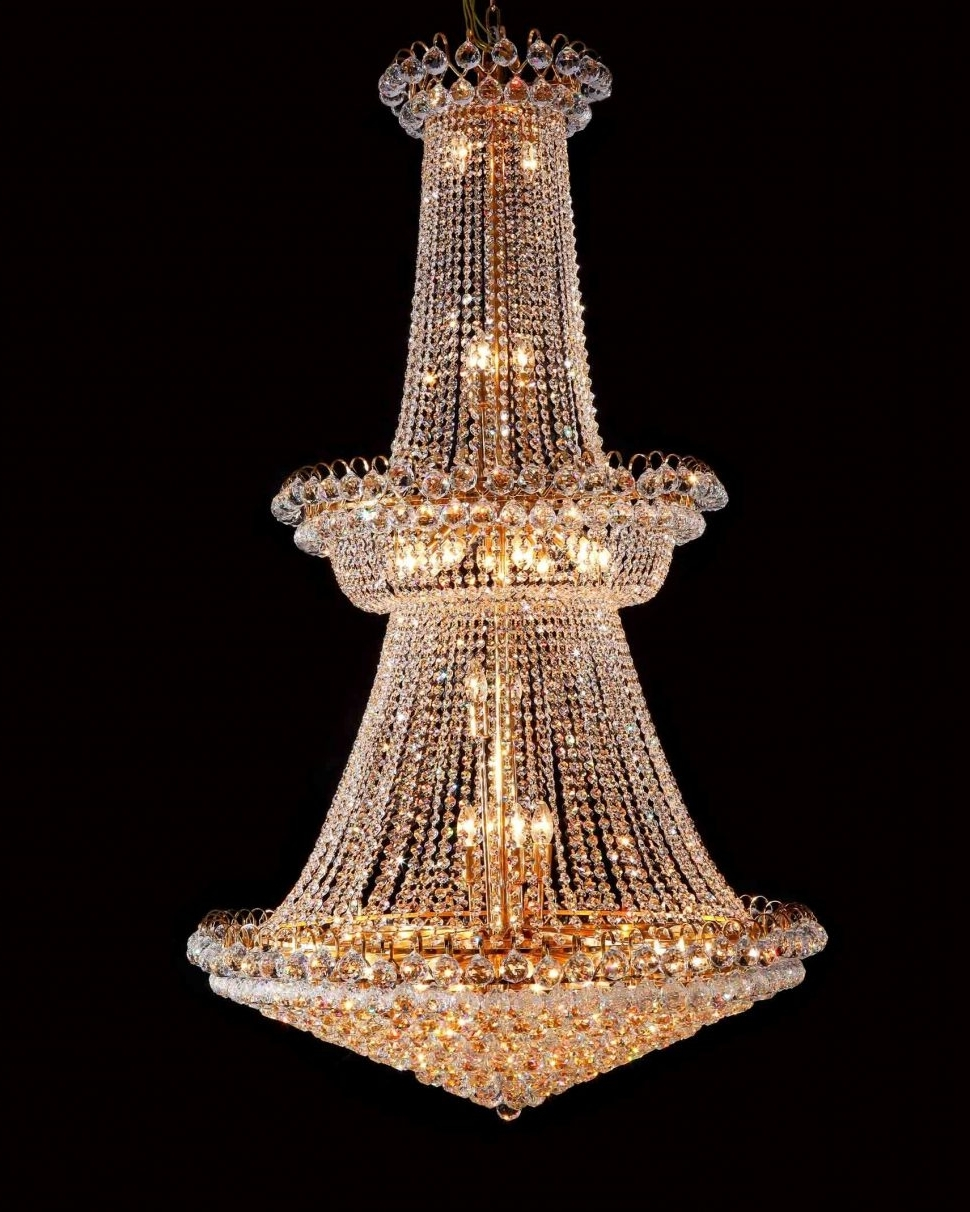Huge Crystal Chandelier Within Most Recently Released Uncategorized : 57 Best Beautiful Huge Crystal Chandelier Images (View 17 of 20)