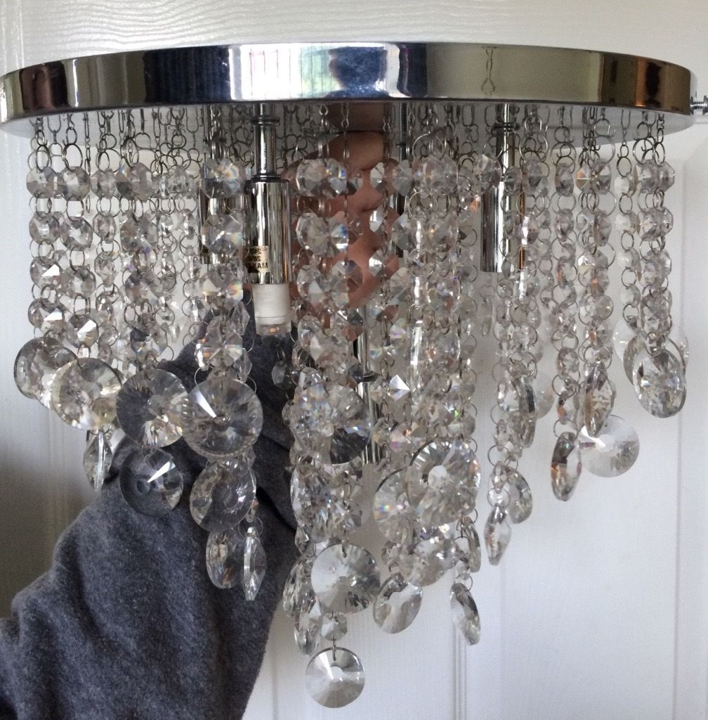 In Fulwood, Lancashire For Most Current Mirror Chandelier (View 9 of 20)