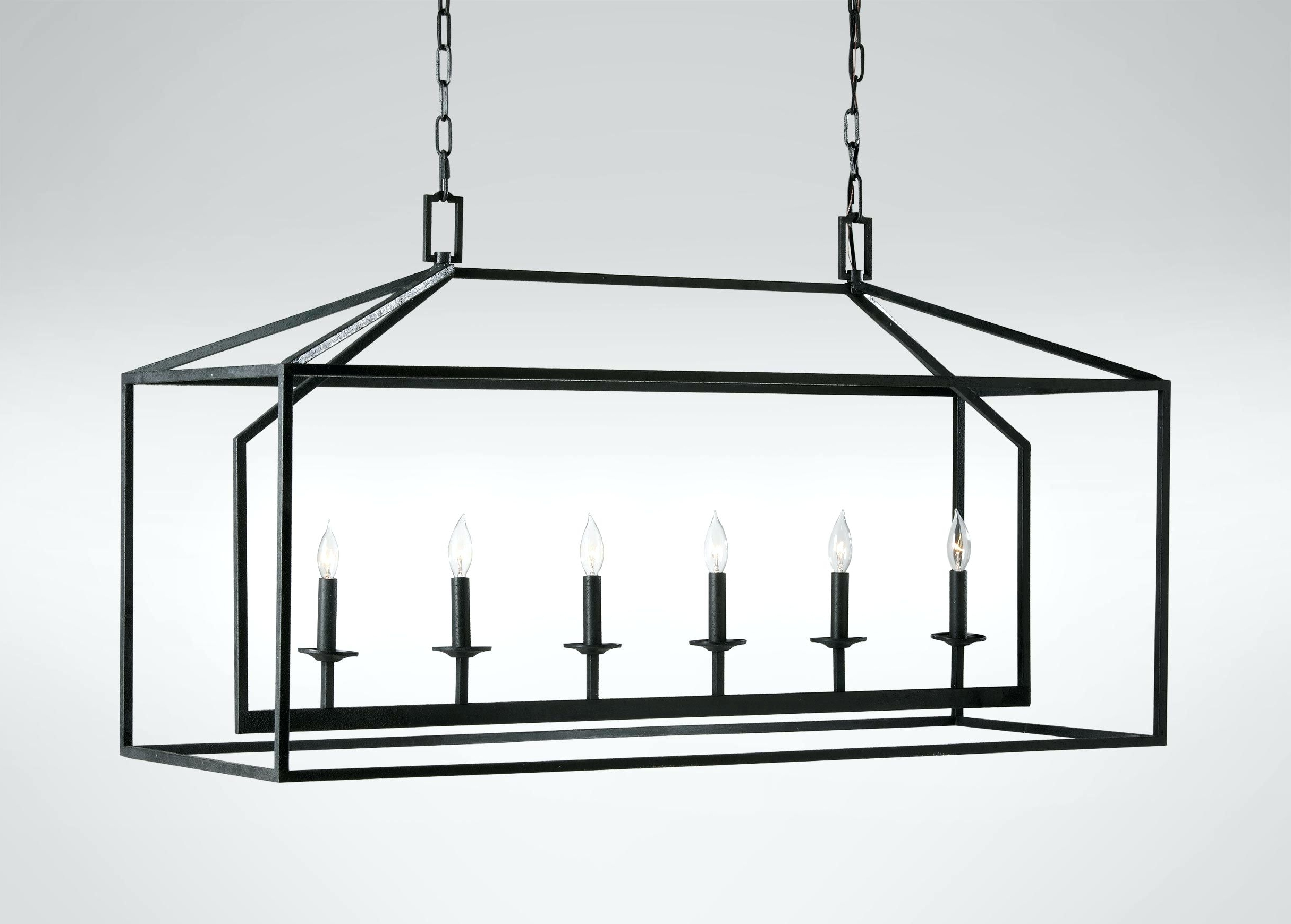 Indoor Lantern Chandelier With Regard To Best And Newest Chandeliers Design : Marvelous Black Iron Lantern Chandelier Current (Gallery 6 of 20)