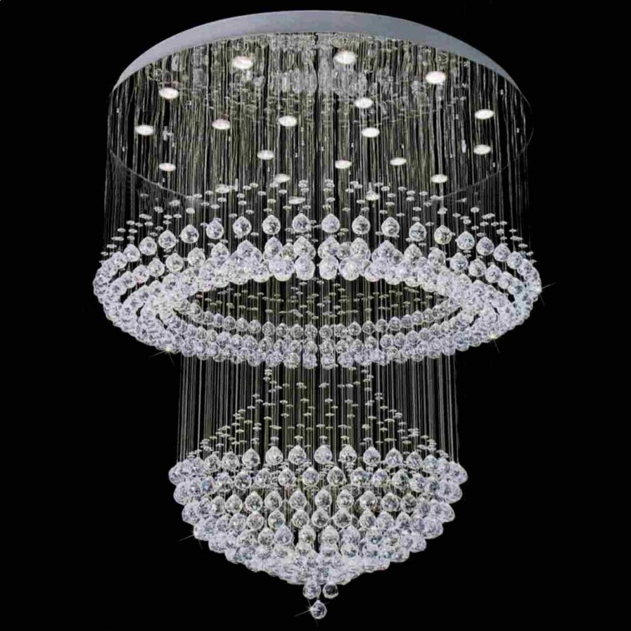 Interior Design And Lighting For Most Recently Released Huge Chandeliers (Gallery 11 of 20)