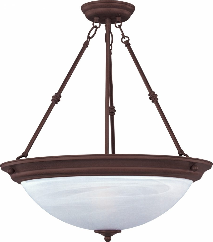 Inverted Pendant Chandeliers With Trendy Chandelier ~ Inverted Bowl Pendants Lamps Beautiful Regarding (View 15 of 20)