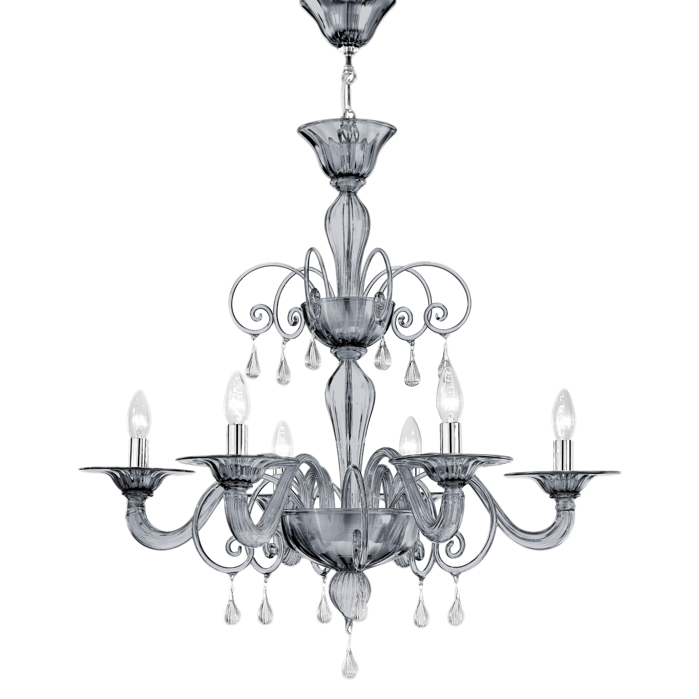 Jasmine – Villaverde London Within Famous Murano Chandelier (View 5 of 20)