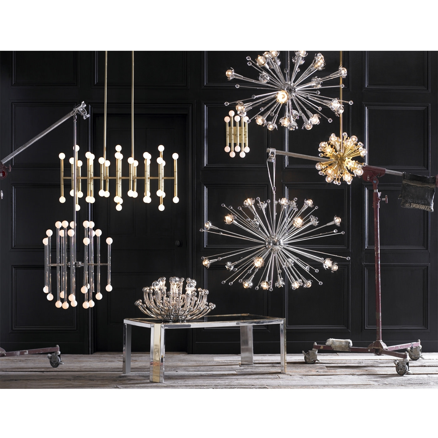 Jonathan Adler For Mini Sputnik Chandeliers (View 8 of 20)