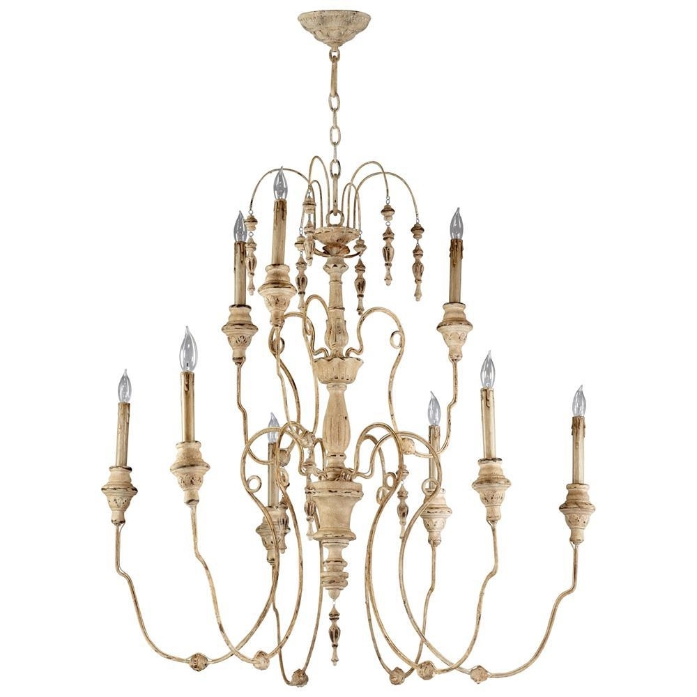 Kathy Kuo Home In French Chandeliers (Gallery 13 of 20)