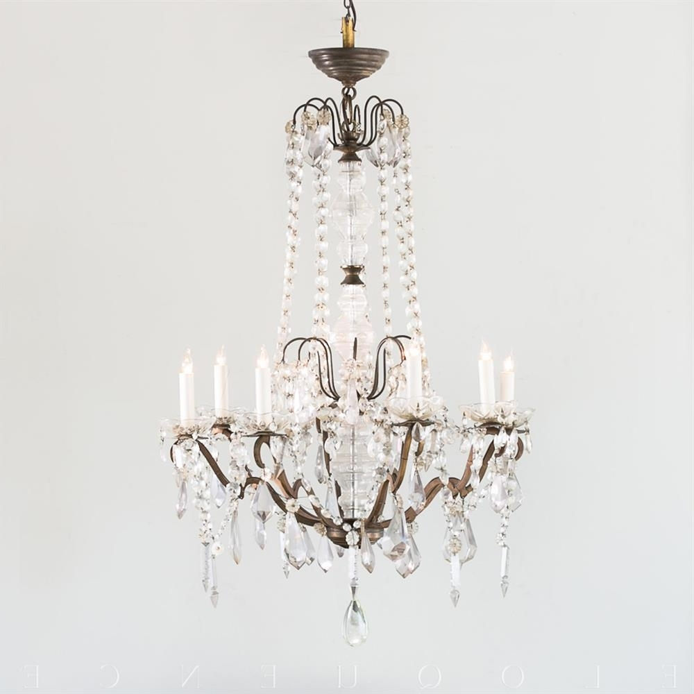 Kathy Kuo Home With Newest French Chandelier (View 8 of 20)