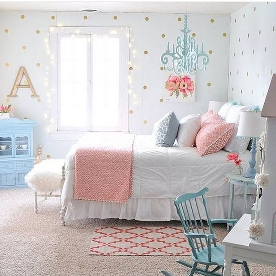 Kids Bedroom Chandeliers Throughout Well Known Chandeliers Design : Marvelous Girls Chandelier For Room Best Tips (Gallery 12 of 20)