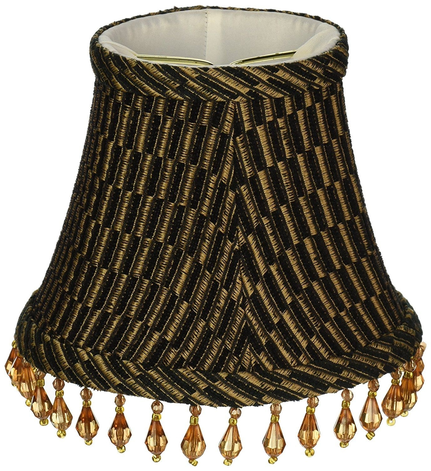 Lamp: Chandelier Lamp Shades Upgradelights Set Of 6 Barrel Shades 5 For Famous Clip On Chandelier Lamp Shades (View 11 of 20)