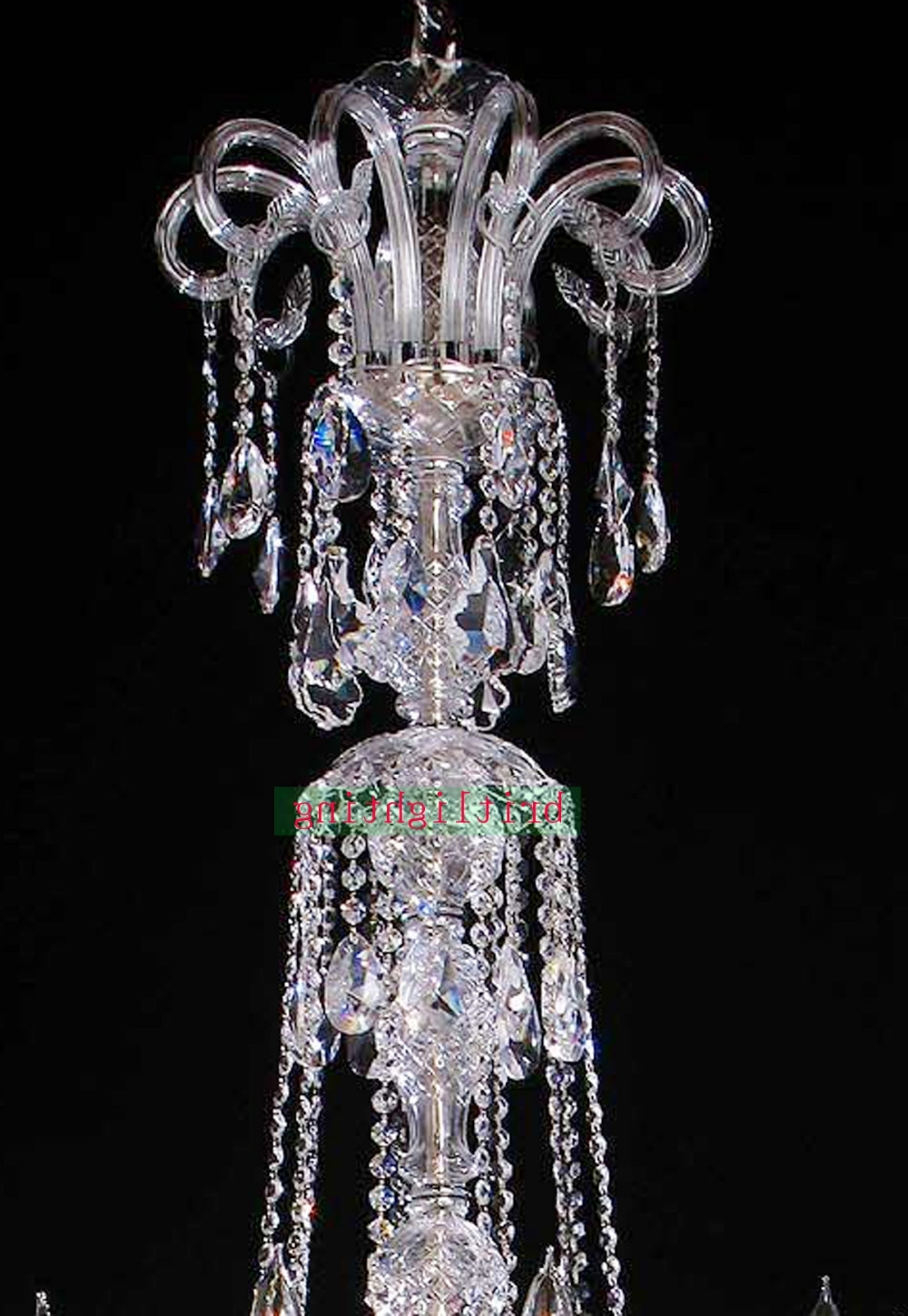 Lamp Modern Crystal Chandeliers 5 Star Hotel Chandelier Led Crystal Throughout 2018 Large Chandeliers (View 20 of 20)