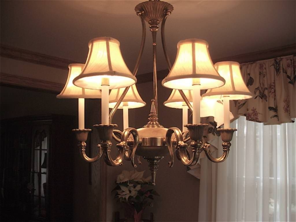 Lampshades For Chandeliers In Best And Newest Fascinating Chandelier Light Shades Simple Candle Lamp With A (View 8 of 20)