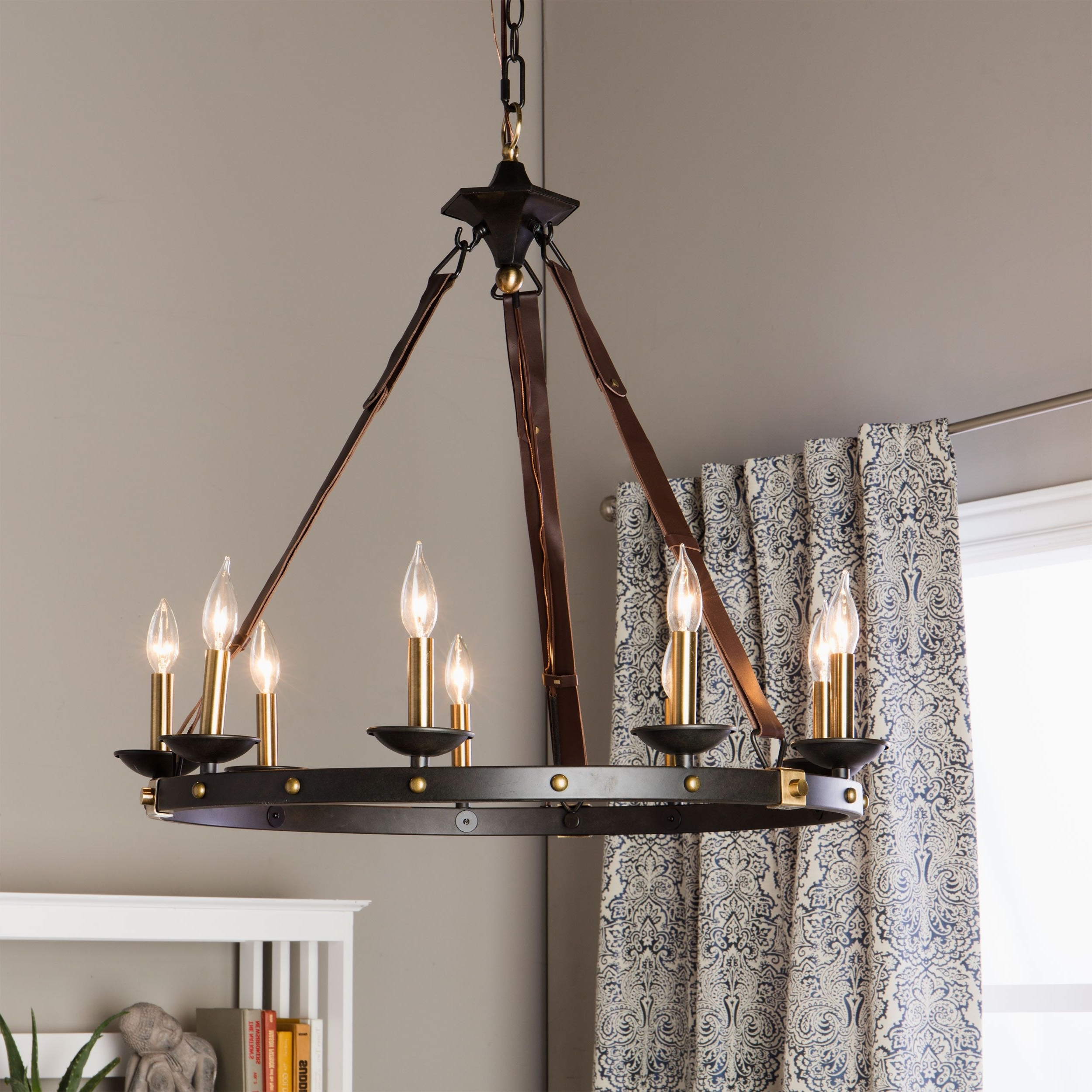 Large Black Chandelier Pertaining To 2018 Rustic Meets Contemporary In This Beautiful Cavalier Chandelier (View 9 of 20)