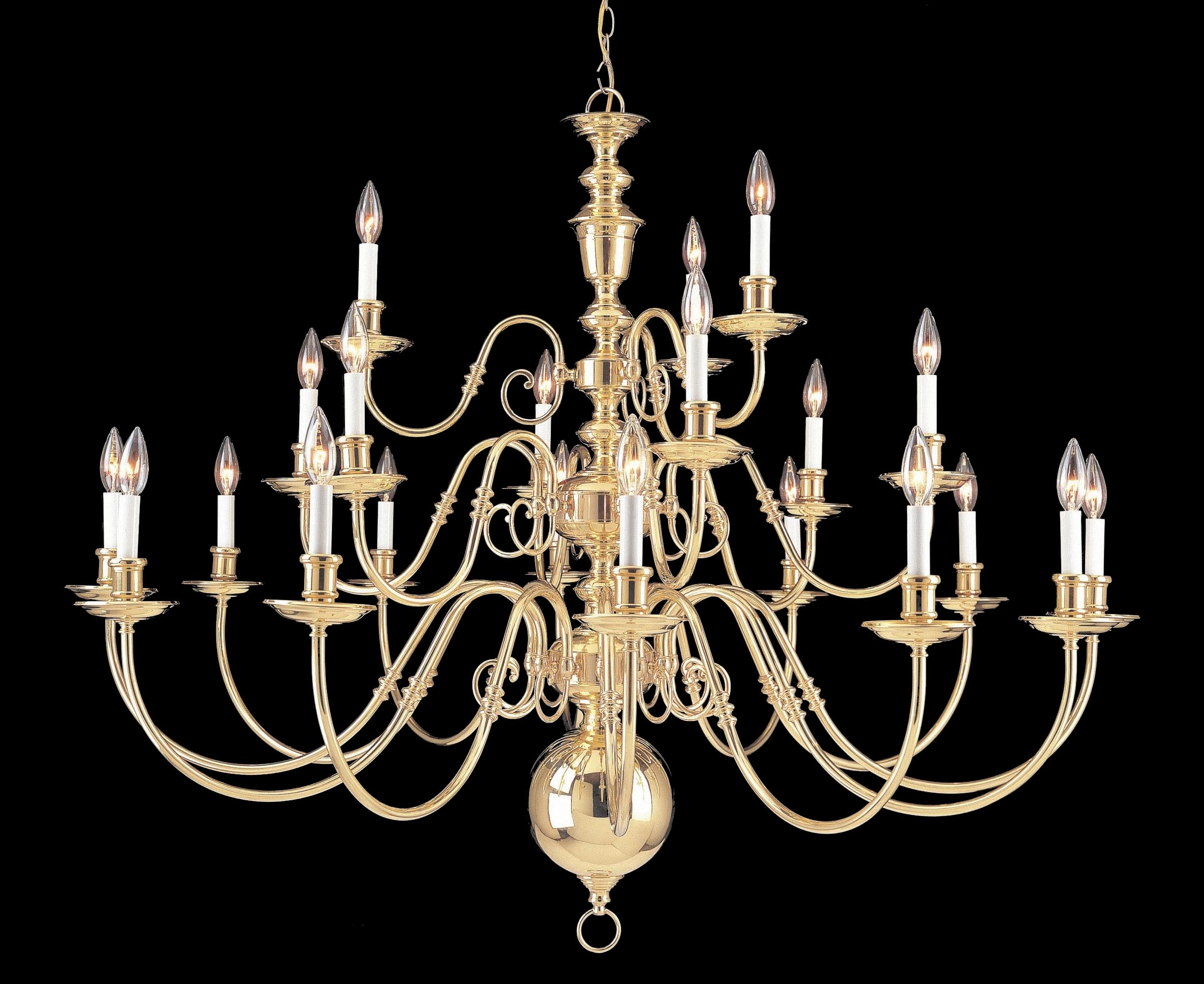 Large Brass Chandelier In 2019 Largelighting – Brass/bronze Chandeliers (View 7 of 20)