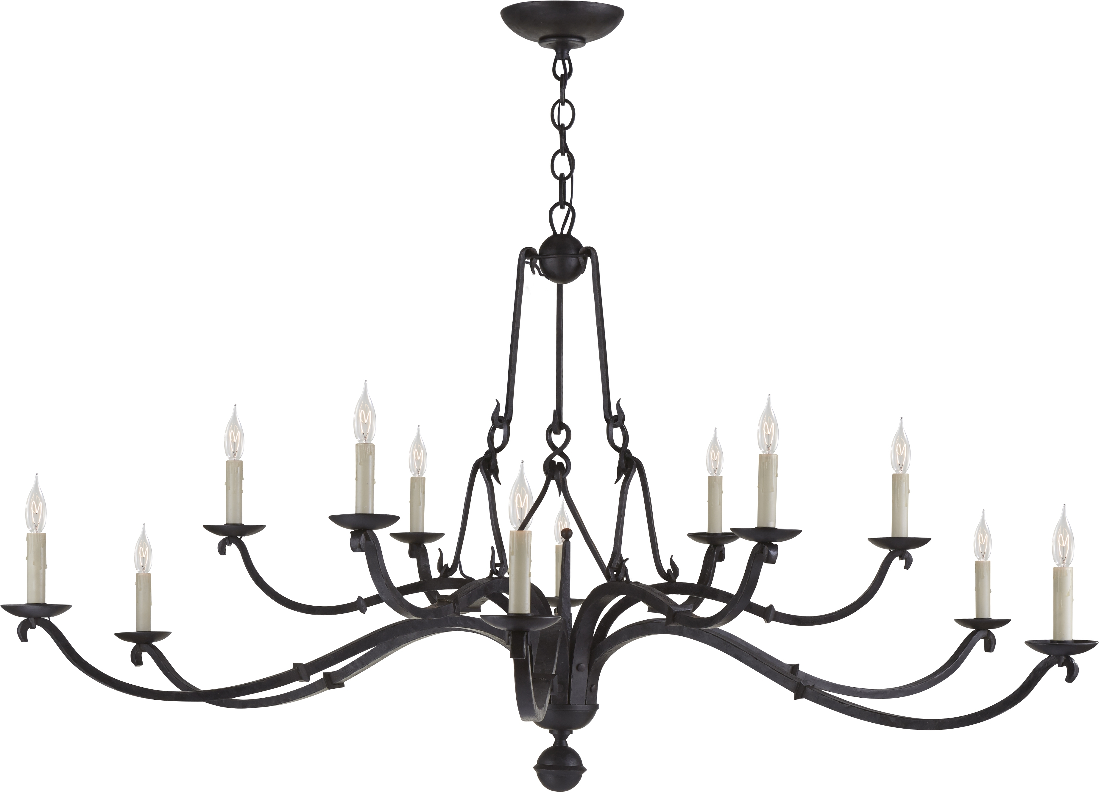 Large Chandelier Candle – Closdurocnoir Intended For Famous Large Iron Chandelier (View 6 of 20)