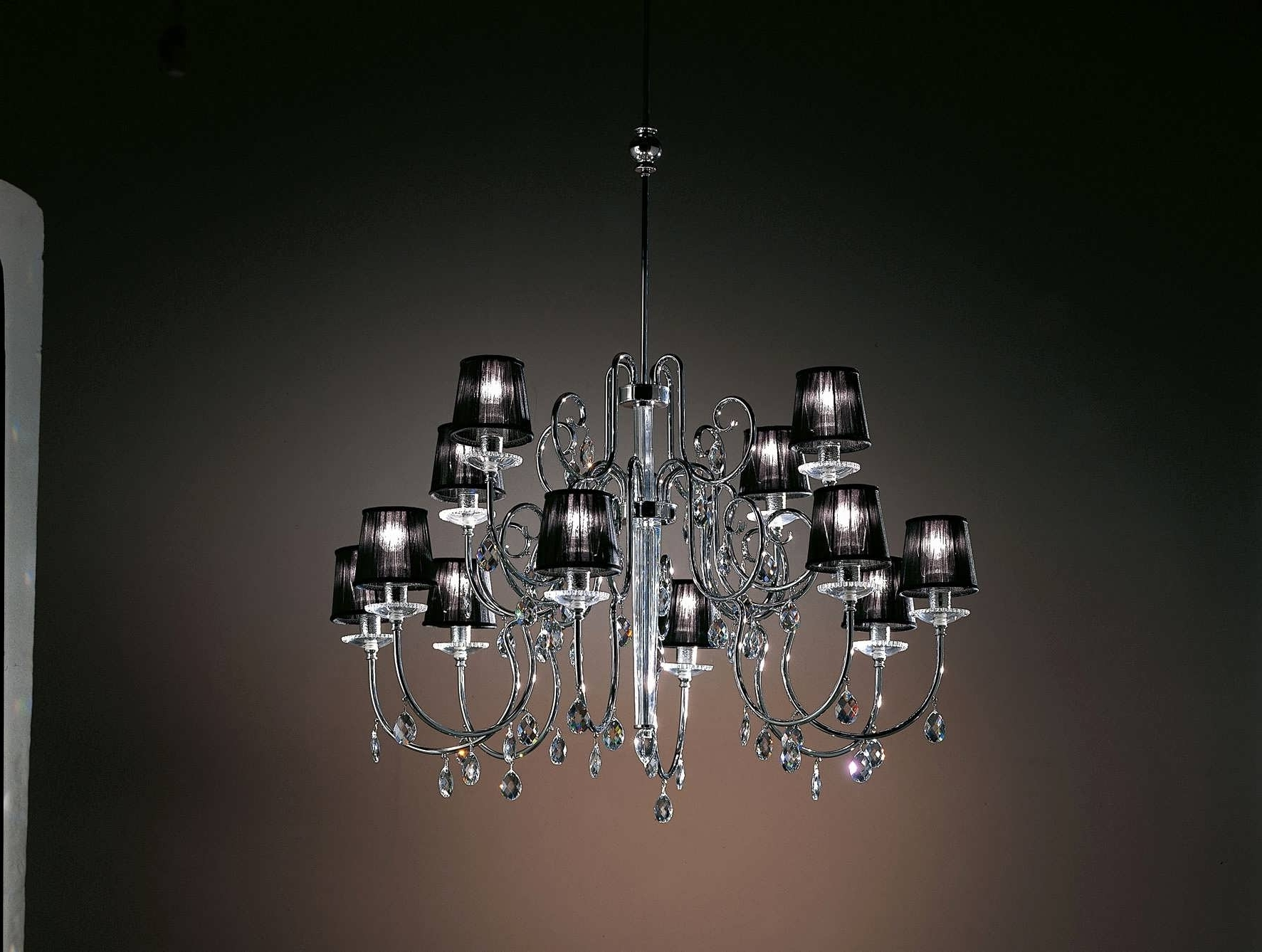 Large Chandeliers Pertaining To Well Known Light : Modern Chandelier Lighting Small Black Keywordrelevance (View 11 of 20)