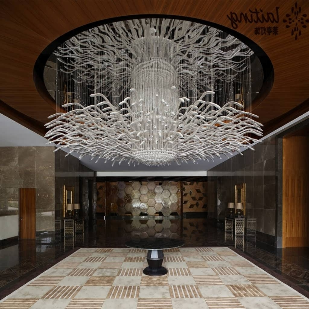 Large Modern Chandeliers Regarding Most Recently Released Chandelier : Candle Chandelier Bathroom Chandeliers Large Modern (View 11 of 20)