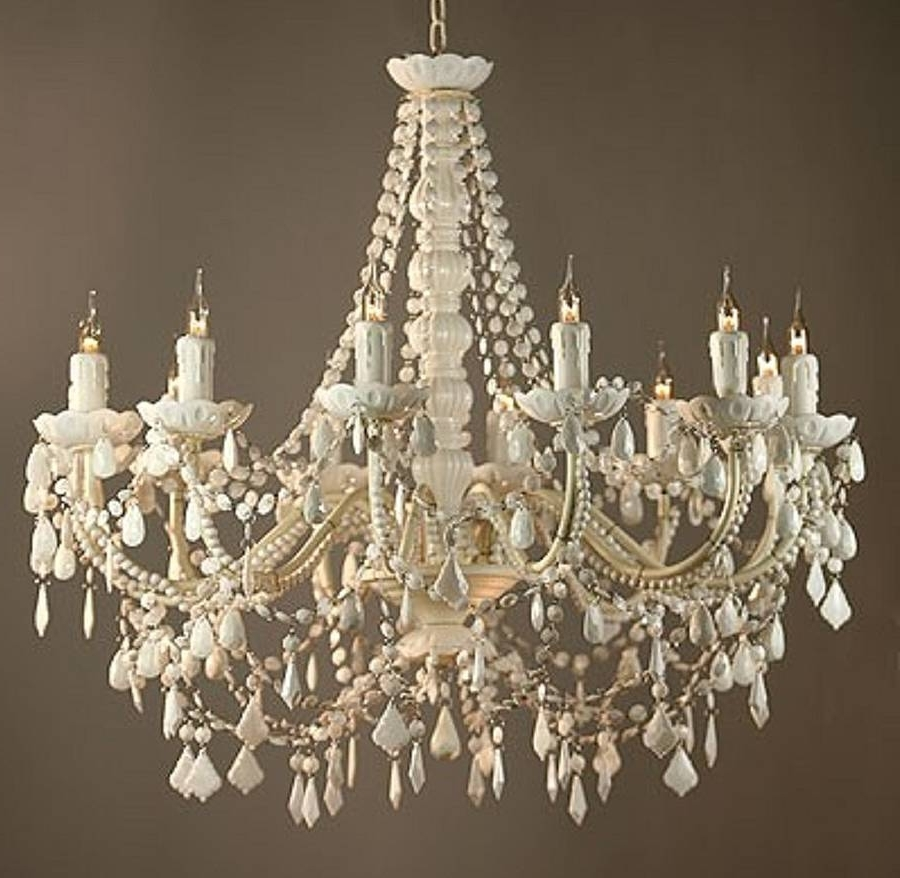 Large White Chandelier Review (View 13 of 20)