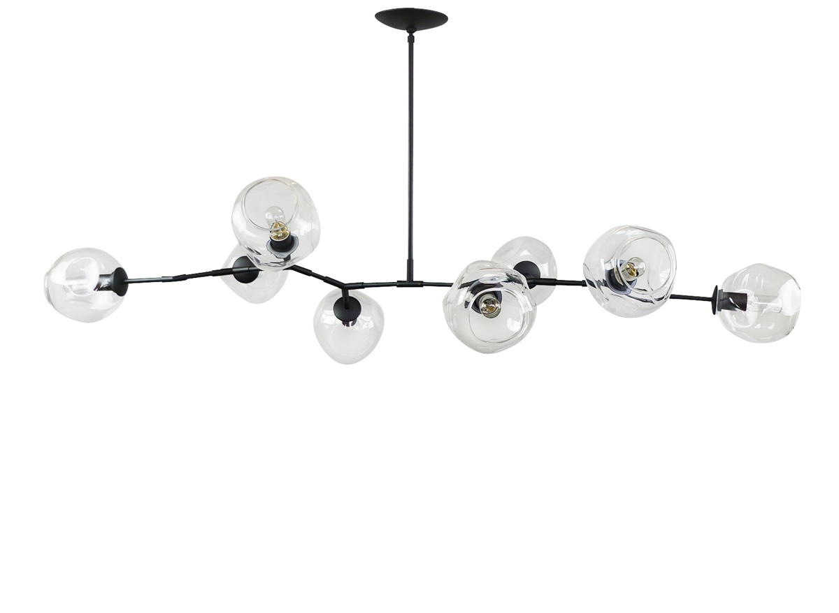 Latest Bronze Modern Chandelier Throughout Branching Bubble Modern Chandelier (View 15 of 20)