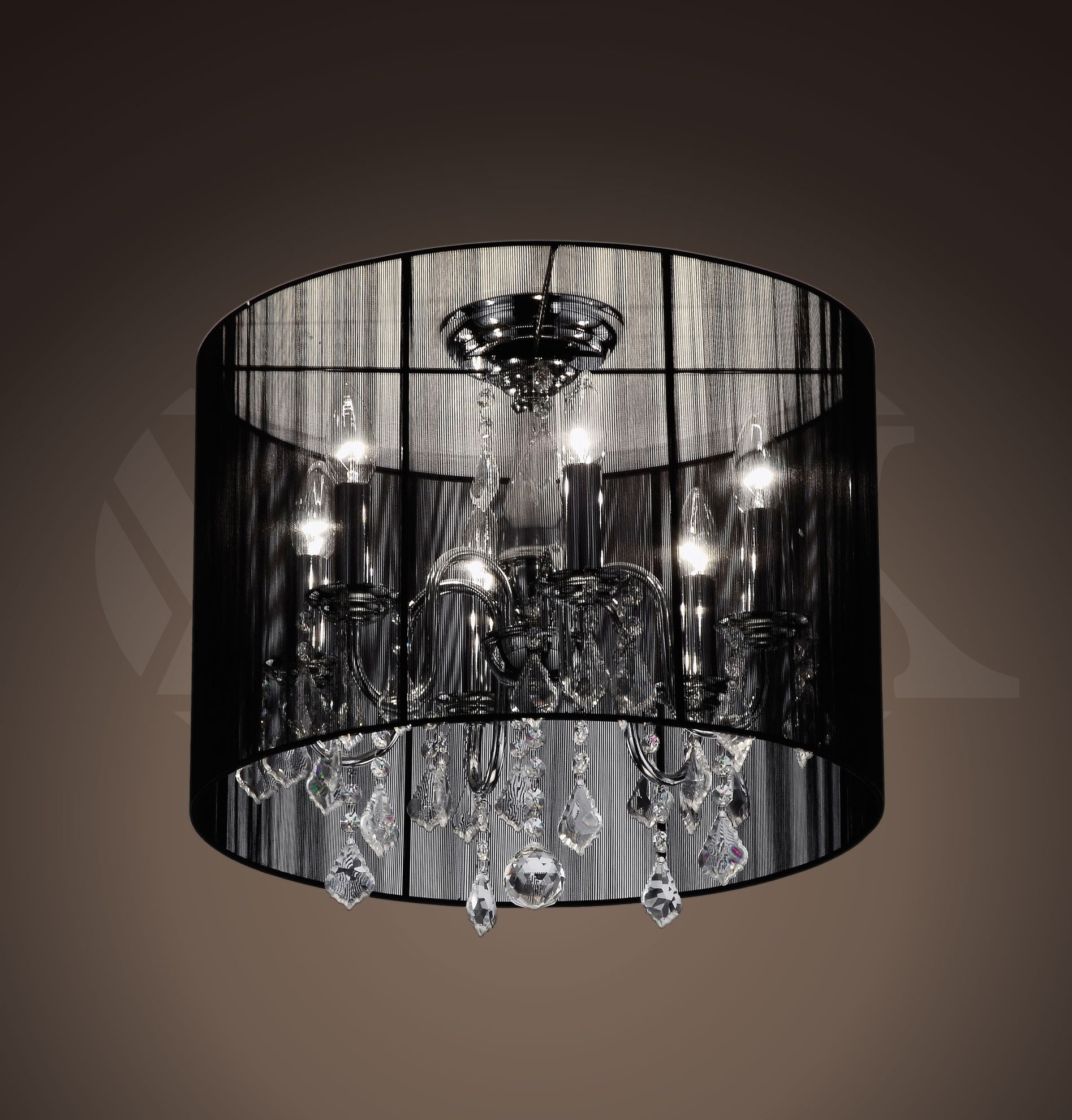 Latest Chandeliers : Glass Chandelier Shades Fresh Chandeliers Small Black Pertaining To Simple Glass Chandelier (View 4 of 20)