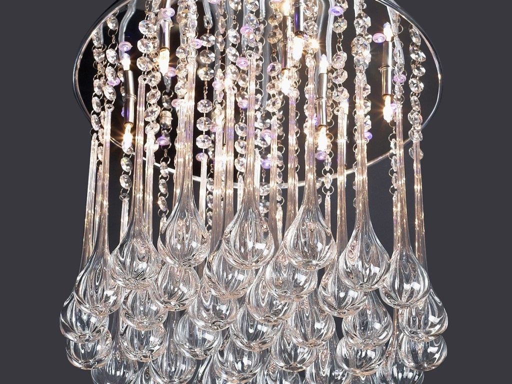 Latest Cheap Faux Crystal Chandeliers Within Crystal Chandelier : Awesome Cheap Crystal Chandeliers Tutorial Diy (View 8 of 20)