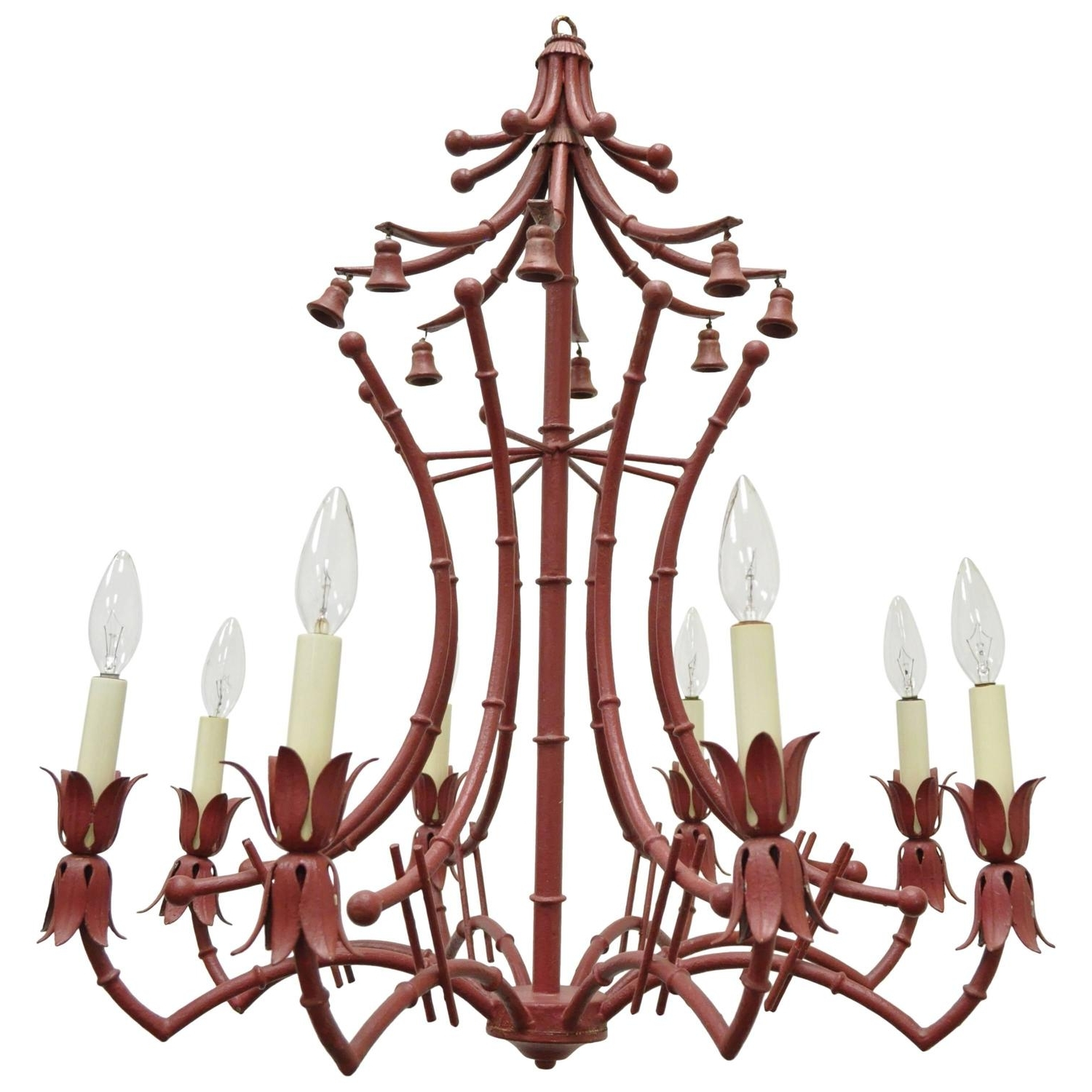 Latest Chinese Chandeliers With Regard To Pagoda Chandeliers – 69 For Sale On 1Stdibs (View 14 of 20)