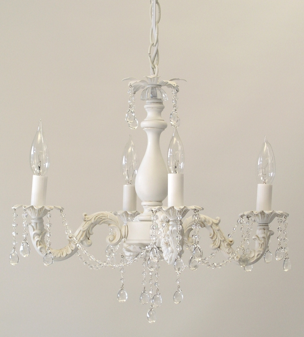 Latest I Lite 4 U; Shabby Chic Style Mini Chandeliers & Lighting For Shabby Chic Chandeliers (View 6 of 20)