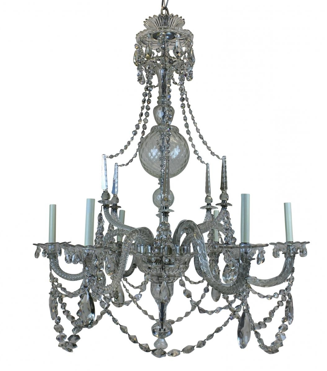 Latest Large Georgian Chandelier, 1790S For Sale At Pamono Inside Georgian Chandelier (View 14 of 20)
