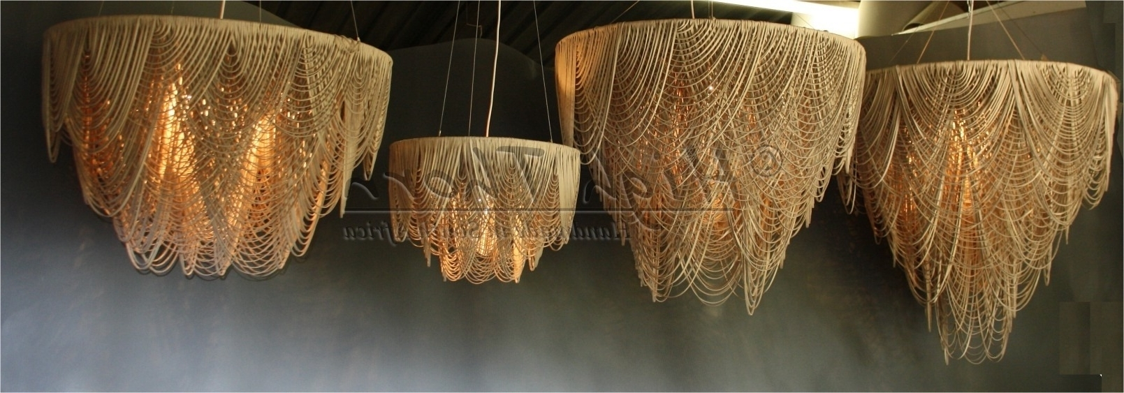Latest Leather Chandeliers Within High Thorn – Handmade In South Africa – Lighting, Furniture, Home (View 2 of 20)