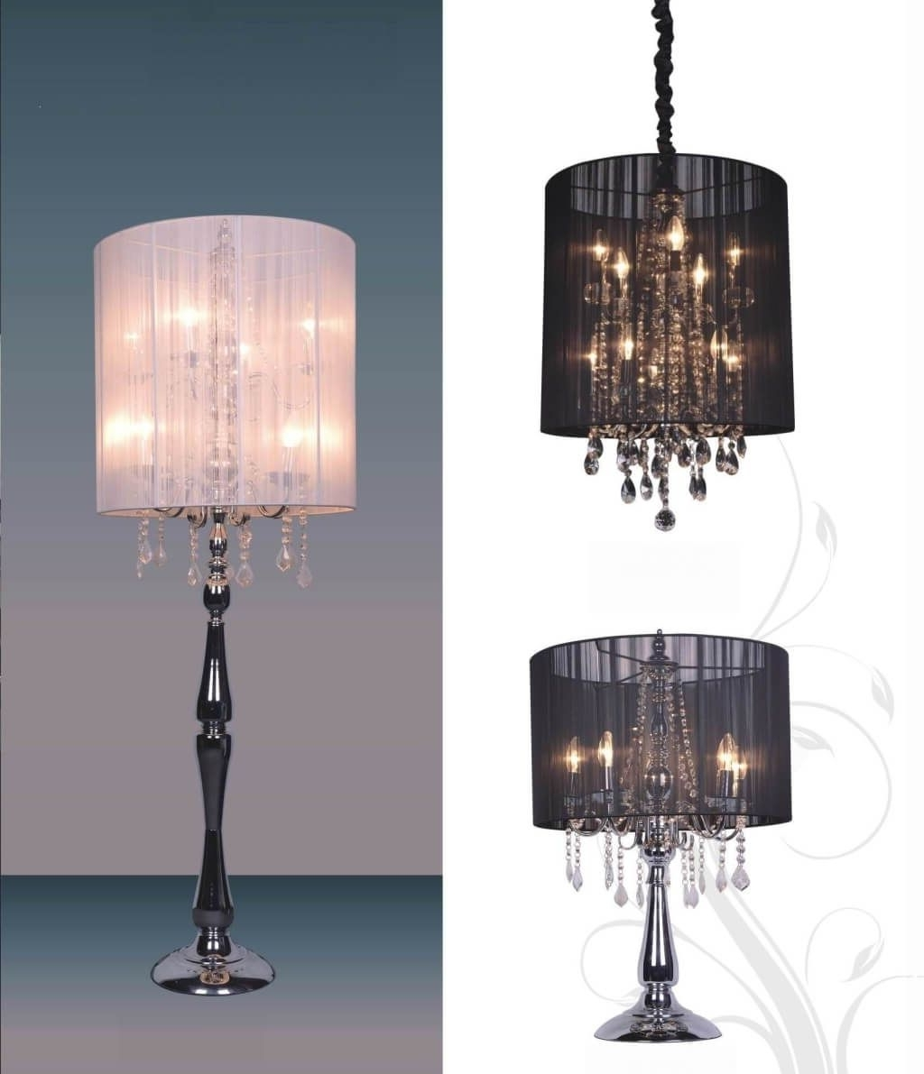 Image Gallery Of Mini Chandelier Table Lamps View 3 Of 20 Photos