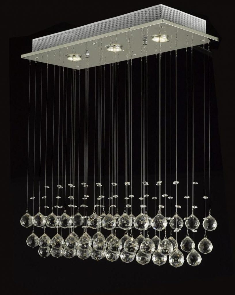 Latest Long Modern Chandelier Within Chandelier ~ Chandelier : Long Modern Chandelier Glass Chandelier (View 8 of 20)