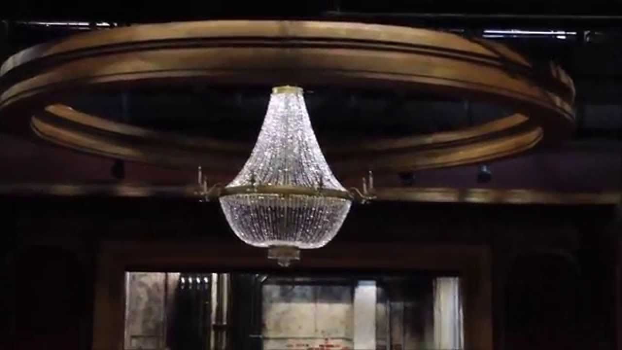 Latest Making A Giant Chandelier – Youtube Intended For Huge Chandeliers (View 14 of 20)