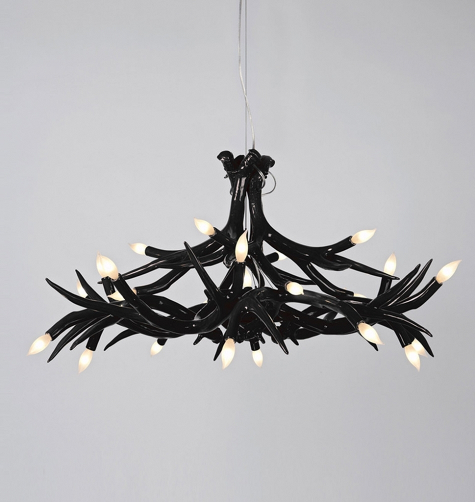 Latest Modern Black Chandelier Pertaining To Chandelier ~ Chandelier : Chandelier Contemporary Chandeliers For (View 13 of 20)