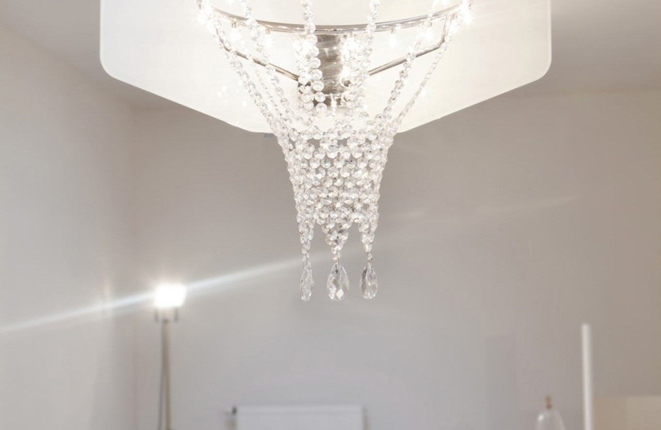 Latest Modern Large Chandelier Pertaining To Chandelier : White Modern Chandelier Entertain Restoration Hardware (View 15 of 20)