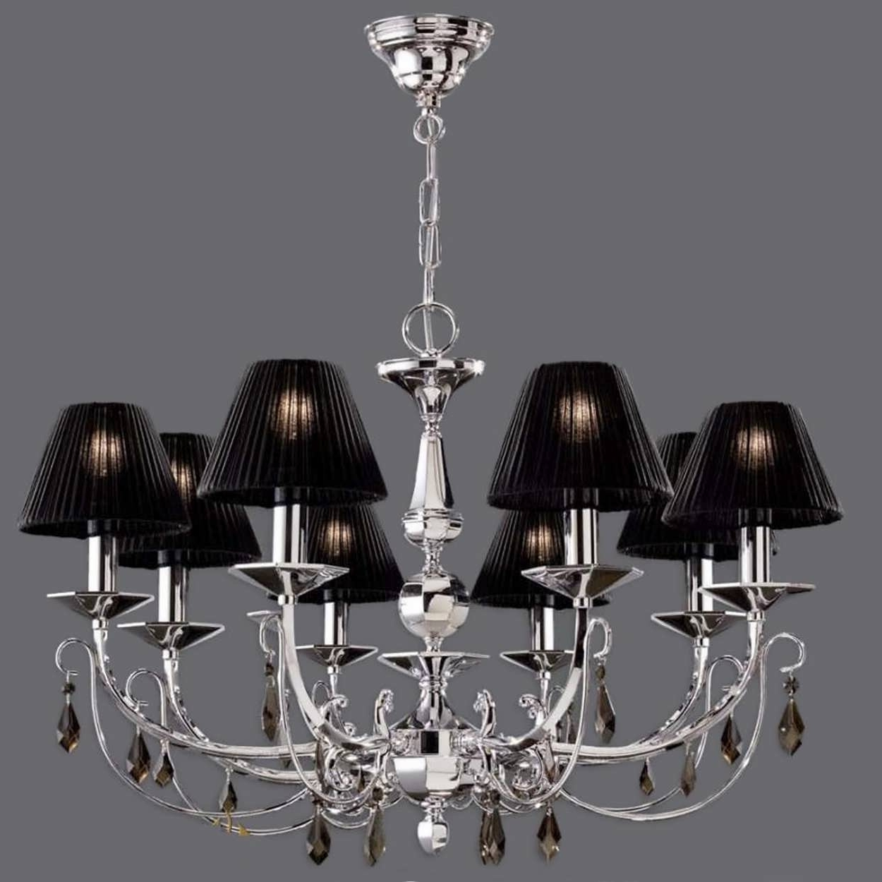 Latest Small Base Chandelier Bulbs Silver Earrings White Lamp Shades Diy Intended For Chandeliers With Lamp Shades (View 14 of 20)