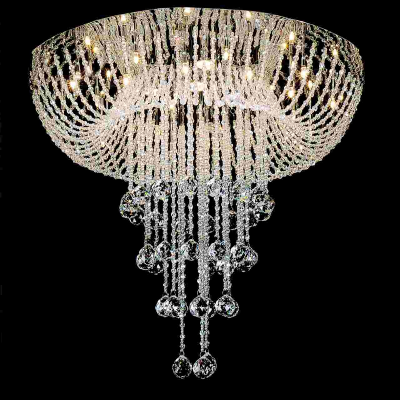 Lead Crystal Chandeliers Regarding Newest Brizzo Lighting Stores (View 6 of 20)