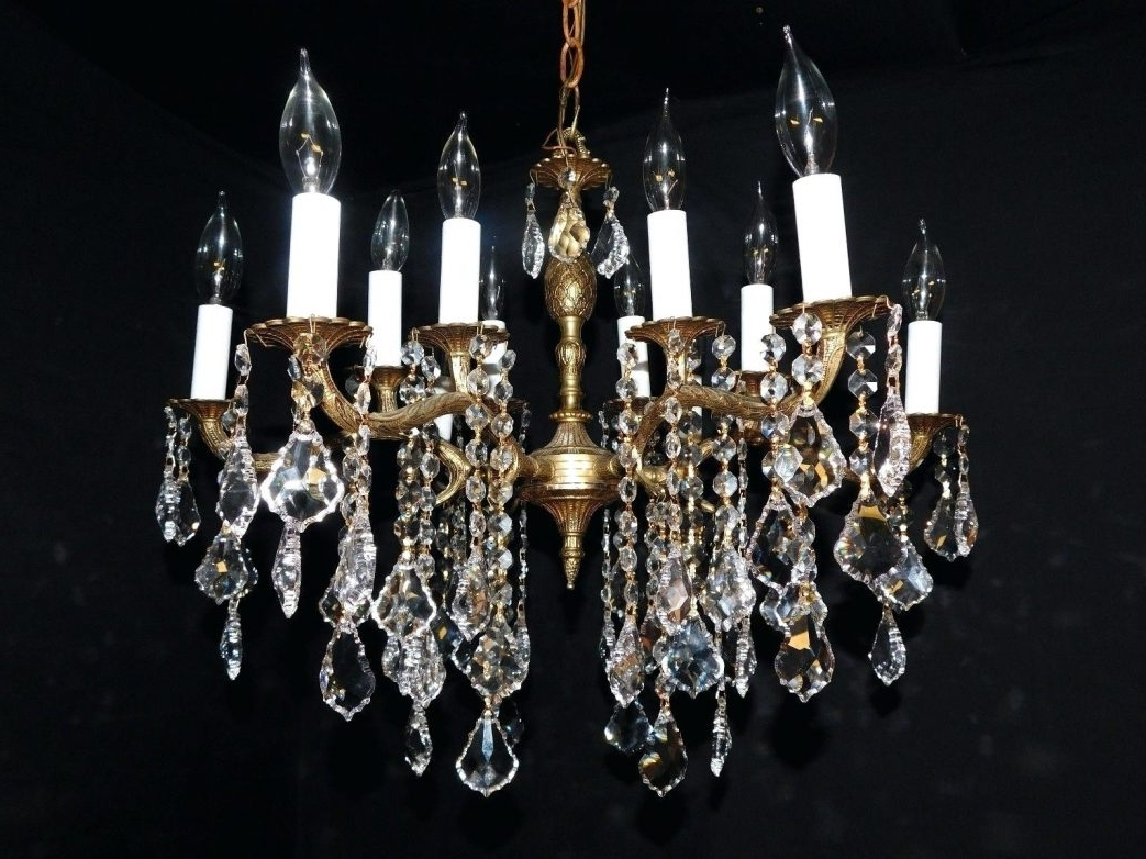 Lead Crystal Chandeliers Throughout Most Recently Released Chandelier Parts Uk Design Magnificent Id